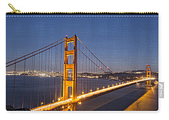 Night Image Golden Gate Bridge Carry-all Pouch