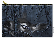 Carry-all Pouch featuring the photograph Night Grazing by Janie Johnson