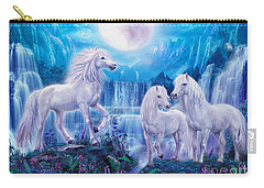 Night Horses Carry-all Pouch by Jan Patrik Krasny