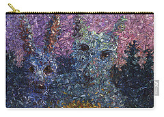 Carry-all Pouch featuring the painting Night Offering by James W Johnson