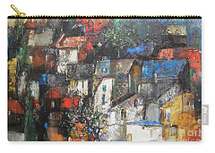 Night Over The Town Carry-all Pouch