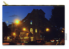 Carry-all Pouch featuring the photograph Night View by Salman Ravish