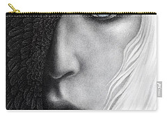 Carry-all Pouch featuring the painting Night Vision by Pat Erickson
