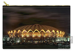 night WVU basketball Coliseum arena in Carry-all Pouch
