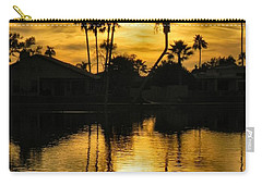 Carry-all Pouch featuring the photograph Nightfall by Deb Halloran