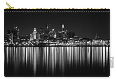 Nightfall In Philly B/w Carry-all Pouch