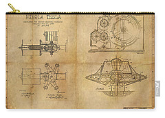 Nikola Telsa's Work Carry-all Pouch by James Christopher Hill