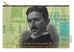 Nikola Tesla #3 Carry-all Pouch