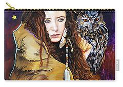 Nine Stars Woman / Owl Medicine Carry-all Pouch