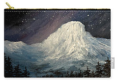 Nite Fall On The Butte Carry-all Pouch