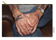 Carry-all Pouch featuring the photograph No Age Limit by Roselynne Broussard