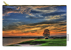 No Better Day Golf Landscape Art Carry-all Pouch