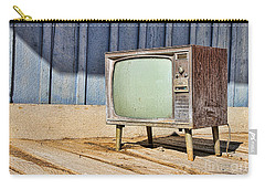 No Channel Surfing - Tv By Diana Sainz Carry-all Pouch
