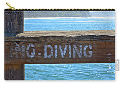 No Diving Carry-all Pouch
