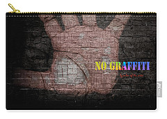 No Graffiti Carry-all Pouch