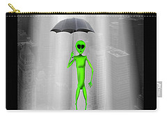 No Intelligent Life Here Carry-all Pouch by Mike McGlothlen