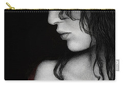 Carry-all Pouch featuring the painting No Looking Back by Pat Erickson