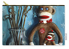 No Monkey Business Here 1 Carry-all Pouch