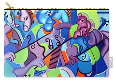 Carry-all Pouch featuring the painting No Strings Attached by Anthony Falbo
