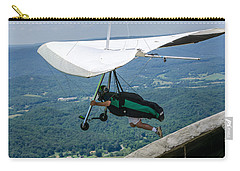 Carry-all Pouch featuring the photograph No Turning Back by Susan  McMenamin