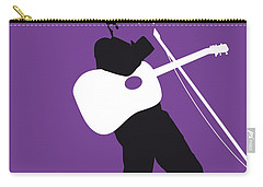 No021 My Elvis Minimal Music Poster Carry-all Pouch