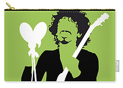 No046 My Santana Minimal Music Poster Carry-all Pouch by Chungkong Art