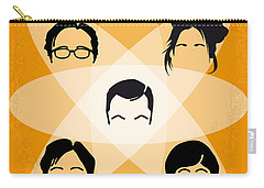 No196 My The Big Bang Theory Minimal Poster Carry-all Pouch