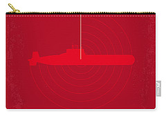 No198 My The Hunt For Red October Minimal Movie Poster Carry-all Pouch by Chungkong Art