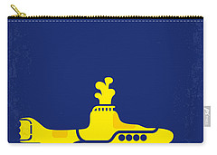 No257 My Yellow Submarine Minimal Movie Poster Carry-all Pouch