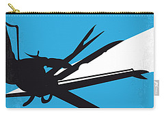 No260 My Scissorhands Minimal Movie Poster Carry-all Pouch by Chungkong Art