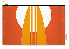No274 My The Endless Summer Minimal Movie Poster Carry-all Pouch by Chungkong Art