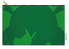 No280 My Shrek Minimal Movie Poster Carry-all Pouch
