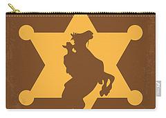 No322 My Rio Bravo Minimal Movie Poster Carry-all Pouch