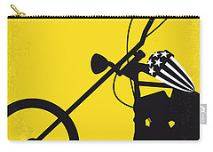 No333 My Easy Rider Minimal Movie Poster Carry-all Pouch by Chungkong Art