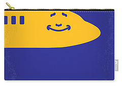 No392 My Airplane Minimal Movie Poster Carry-all Pouch