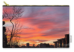 Carry-all Pouch featuring the photograph Nob Hill Sunset by Kate Brown