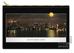 Carry-all Pouch featuring the photograph Nocturne by Mariarosa Rockefeller