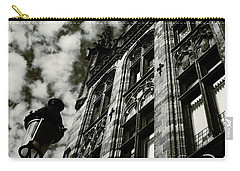 Noir Moment In Brugges Carry-all Pouch