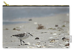 Nokomis Beach Piper Carry-all Pouch by Susan Molnar