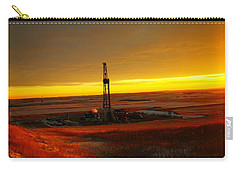 Nomac Drilling Keene North Dakota Carry-all Pouch by Jeff Swan