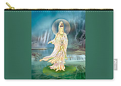 Non-dual Kuan Yin Carry-all Pouch