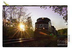 Norfolk And Southern At Sunset Carry-all Pouch