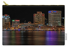 Norfolk Virginia Skyline Carry-all Pouch