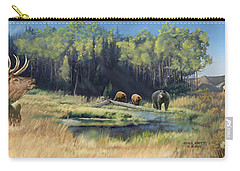 North American Waterhole Carry-all Pouch