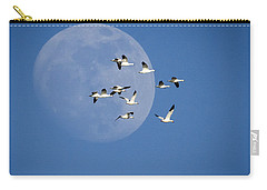 Carry-all Pouch featuring the photograph North Bound by Jack Bell