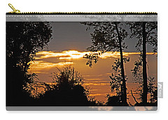 North Carolina Sunset Carry-all Pouch by Walter Herrit