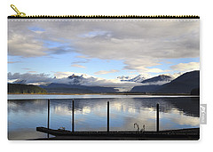 Carry-all Pouch featuring the photograph North Douglas Reflections by Cathy Mahnke