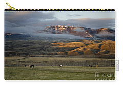 North Fork Pasture-signed Carry-all Pouch