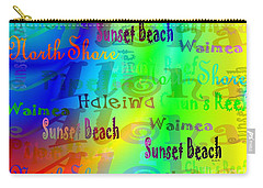 North Shore Beaches Carry-all Pouch
