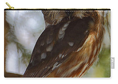 Northern Saw-whet Owl II Carry-all Pouch